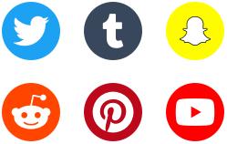 2018-social-media-logotypes